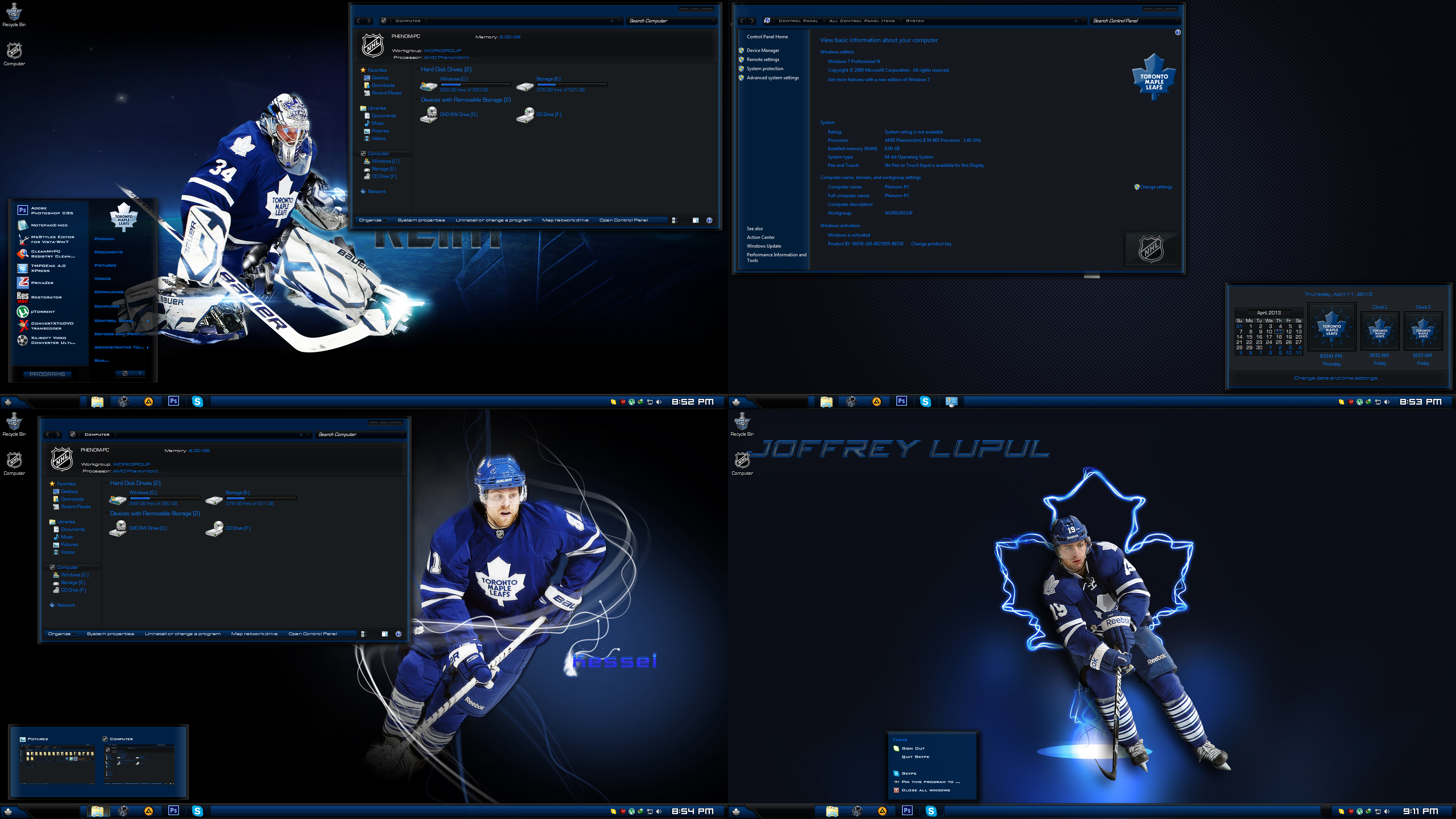 [����] Toronto Maple Leafs [ Windows 7 / 2013]