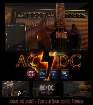 Rock or Bust The Vintage ACDC Theme