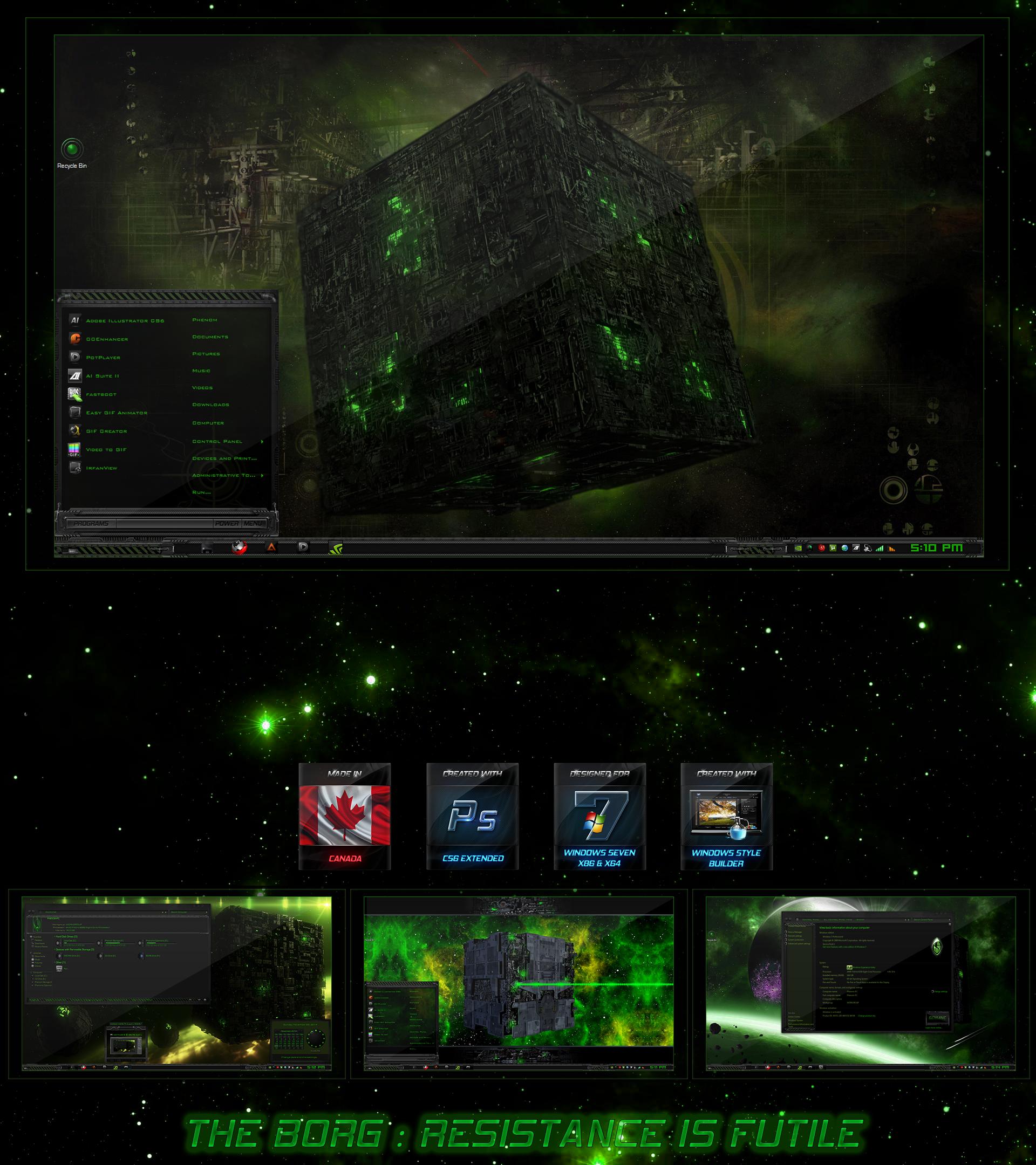 The Borg Resistance is Futile by R0ck-n-R0lla1
