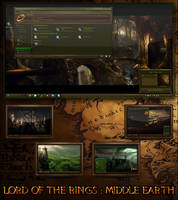 Lord of The Rings : Middle Earth by R0ck-n-R0lla1