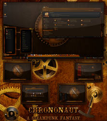 Chrononaut: A Steampunk Fantasy by R0ck-n-R0lla1