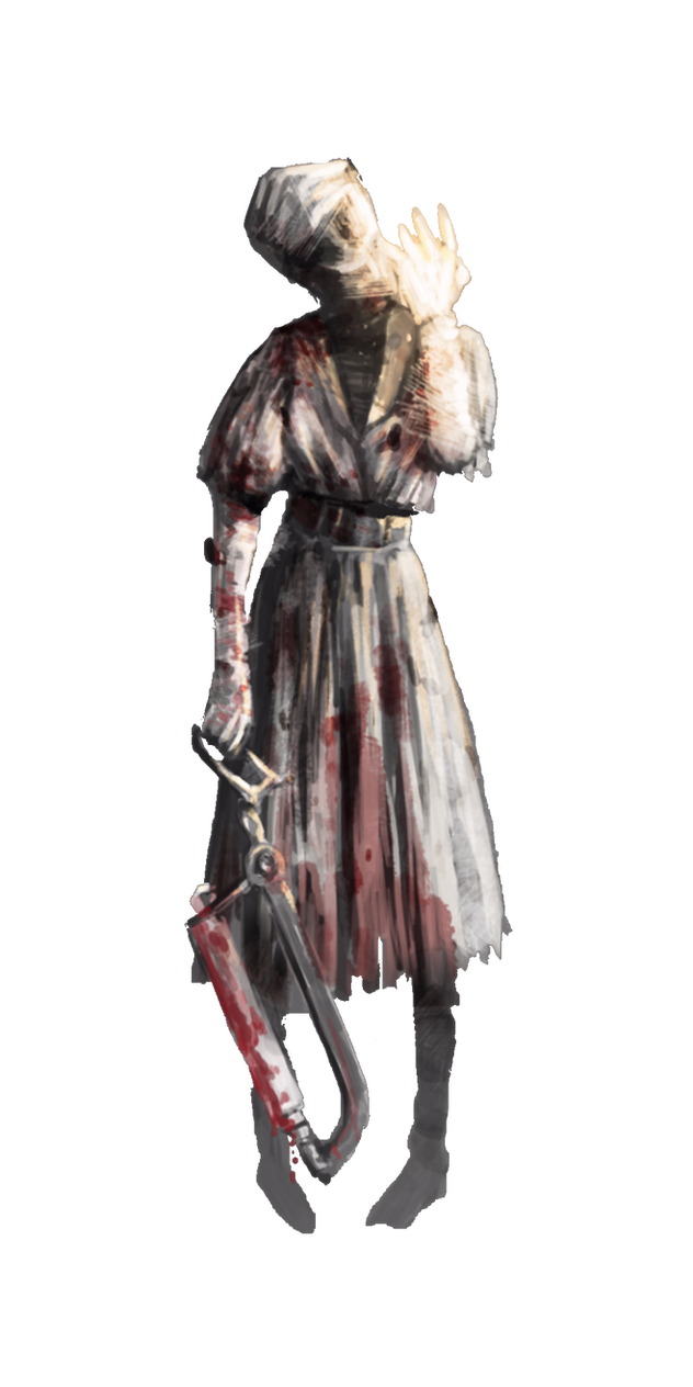 The nurse (dead by daylight) by yamimariklover14 on DeviantArt
