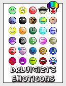 30 Emoticons by DrLuigi21