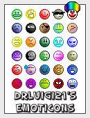 30 Emoticons by DrLuigi21