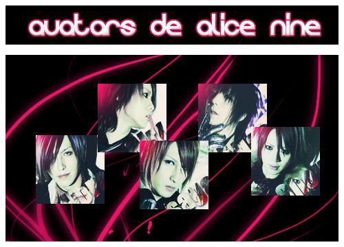 Avatars alice nine by Yren