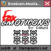 Grey Fox Emoticons Set by d4rkest