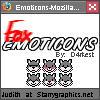 Grey Fox Emoticons Set by d4rkest