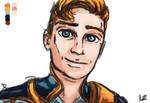John Smiling [GIF]