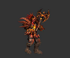Demon Warrior (gif animation)