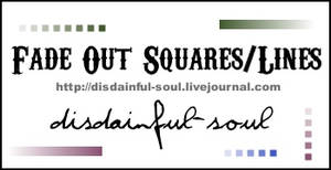 Fade Out Squares, Lines