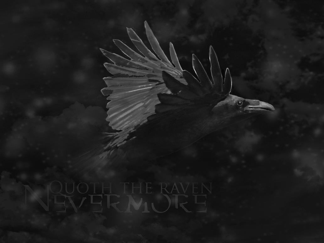 Quoth The Raven Nevermore By Silver Noctis