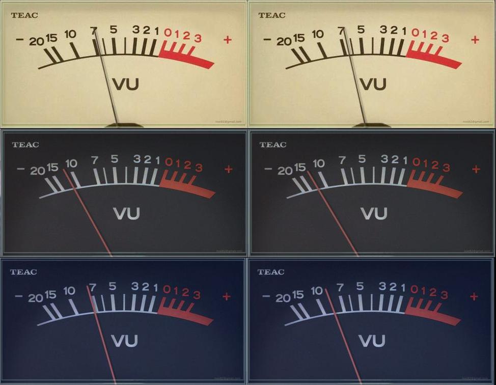 TEAC-NX 20151011 VU meters for foobar2000 by noel62