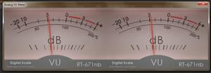 Technics RT-671nb analog VU meter for foobar2000 by noel62