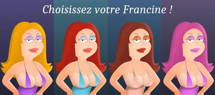 Pick your Francine by noel62