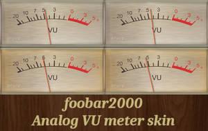 [Updated] foobar2000 VU meter skin SONY TC-3xxx by noel62
