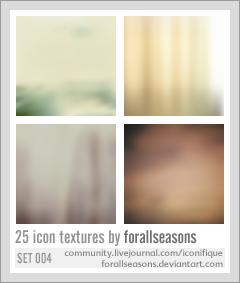 Icon Texture Set 004 by forallseasons