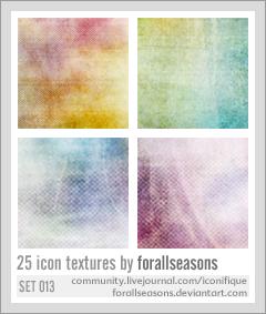Icon Textures Set 013 by forallseasons
