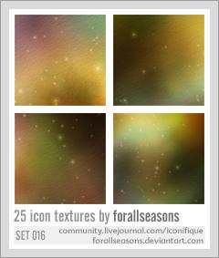 Icon Texture Set 016 by forallseasons