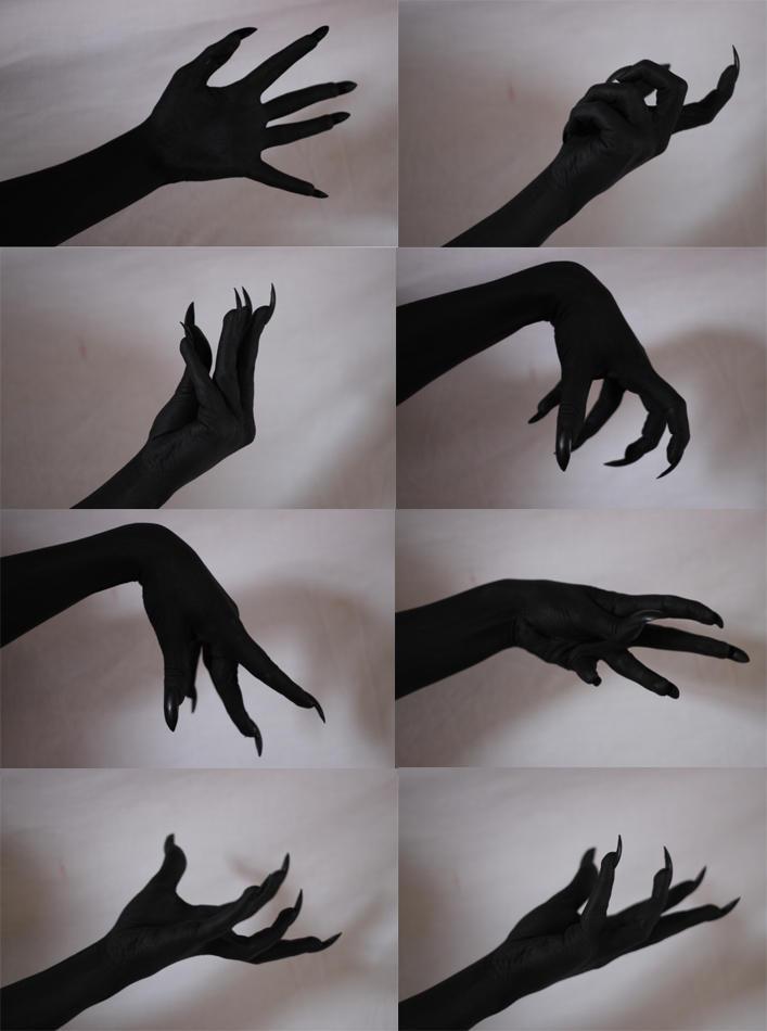 Demon Hands 2 by Tasastock