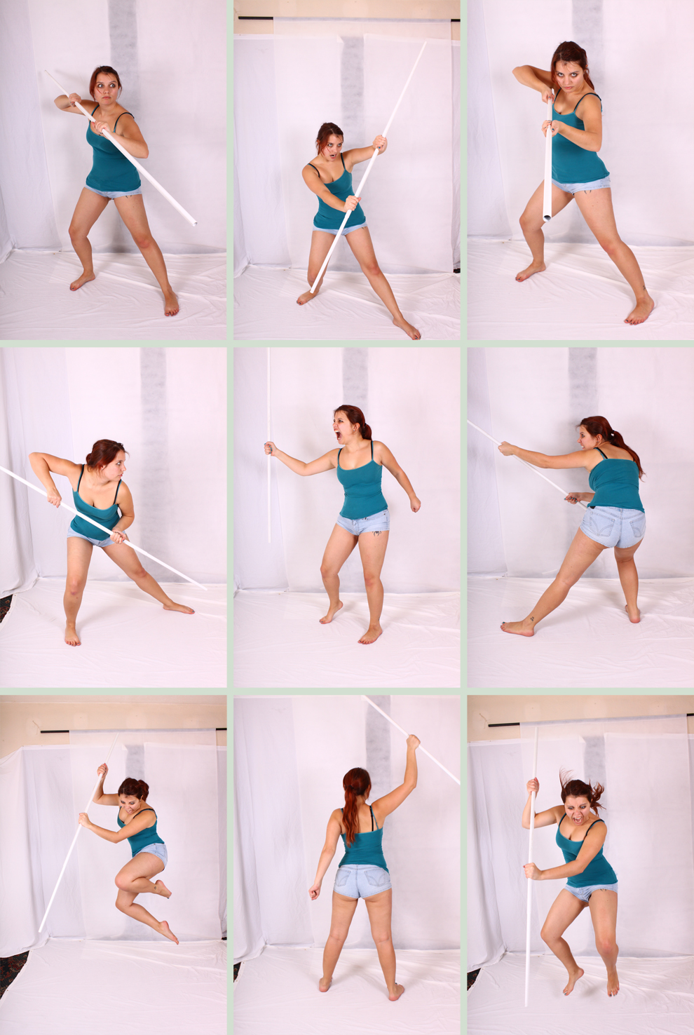 Dynamic poses reference model