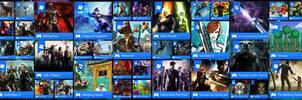 51 Windows 8 Start Menu Game Tiles/Icons by Batnamz