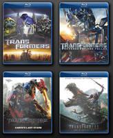Transformers Blu Ray Movie Icons by Batnamz