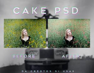 Cake PSD
