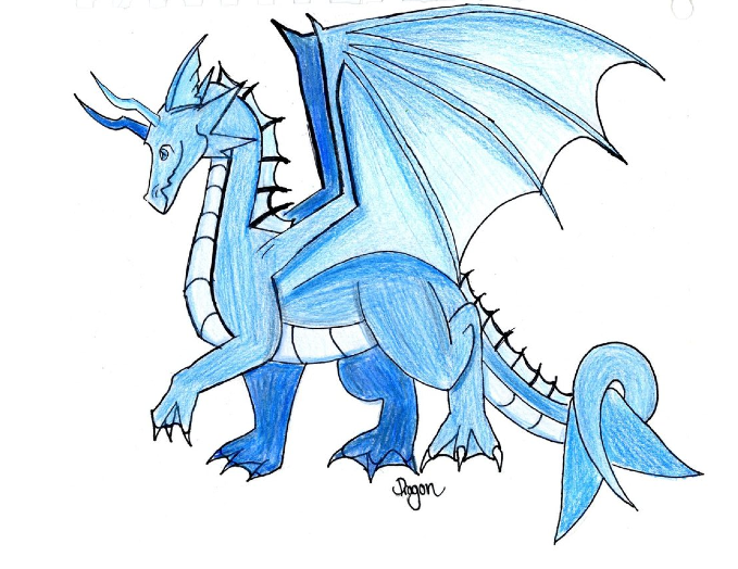 drawings of ice dragons let s draw an ice dragon fantasy art
