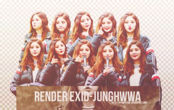 [080815] Share render EXID-JungHwa by Byunryexol
