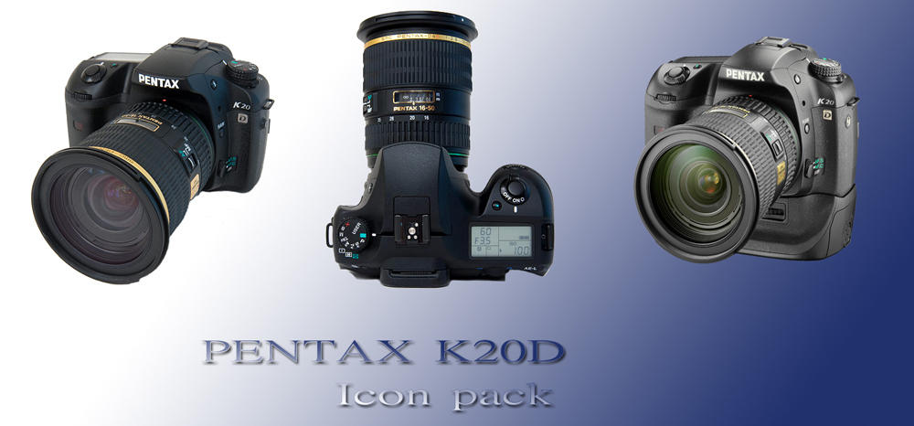 Pentax K20D Icon pack by mic330