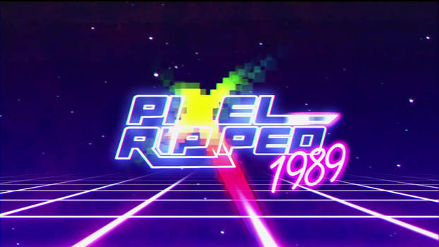 Pixel Ripped Motion Graphics  Comission 