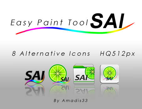 Paint Tool Sai Alternative icons
