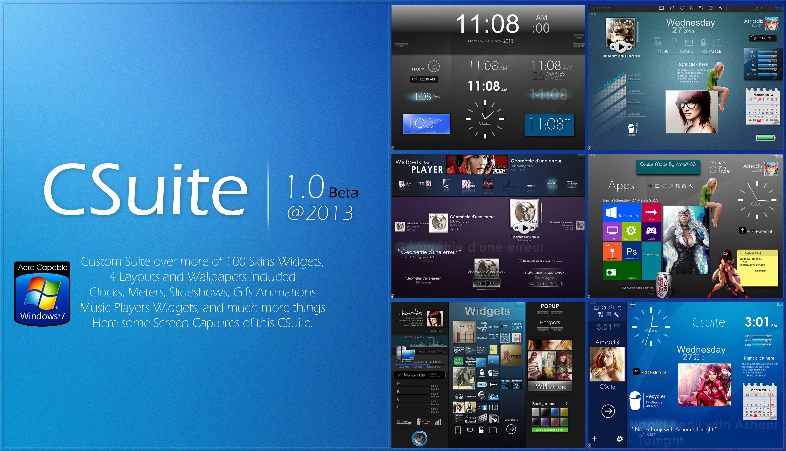 CSuite1.0 @2013beta by amadis33