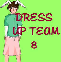 Team Eight Dress Up by crowlover13