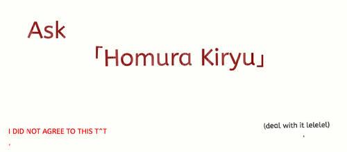 Ask Homura!