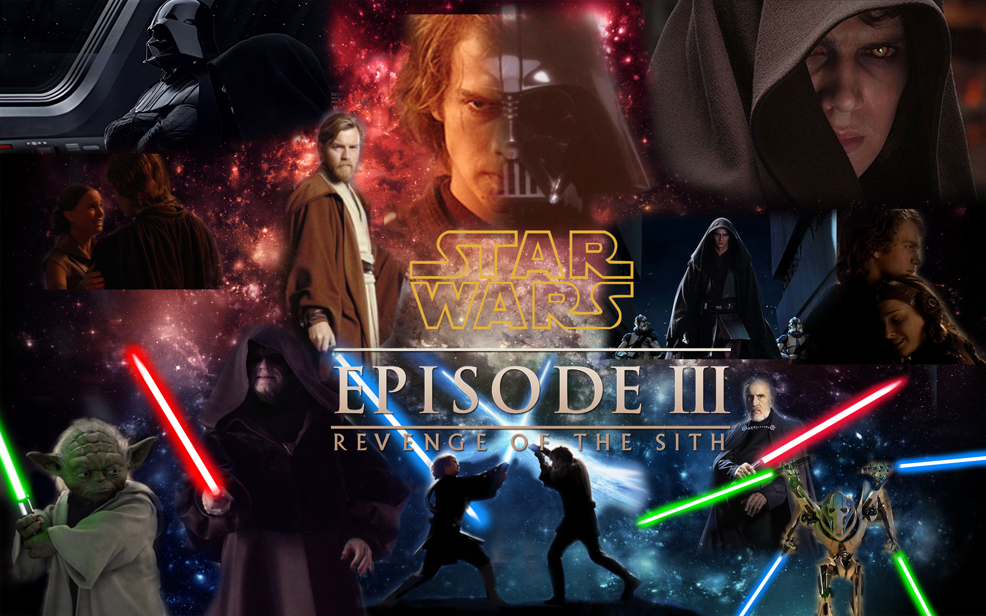 Star Wars 3 Wallpaper by