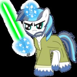 Shining Armer as Luke Skywalker in Star wars 7