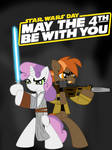 Sweetie and Mash's Star wars day