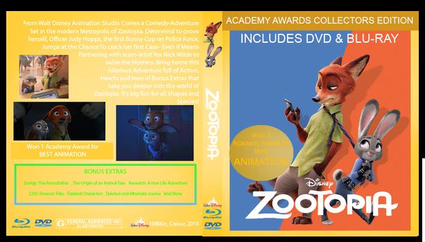 Zootopia Academy Awards Custom Cover