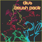 abstract shape brushes