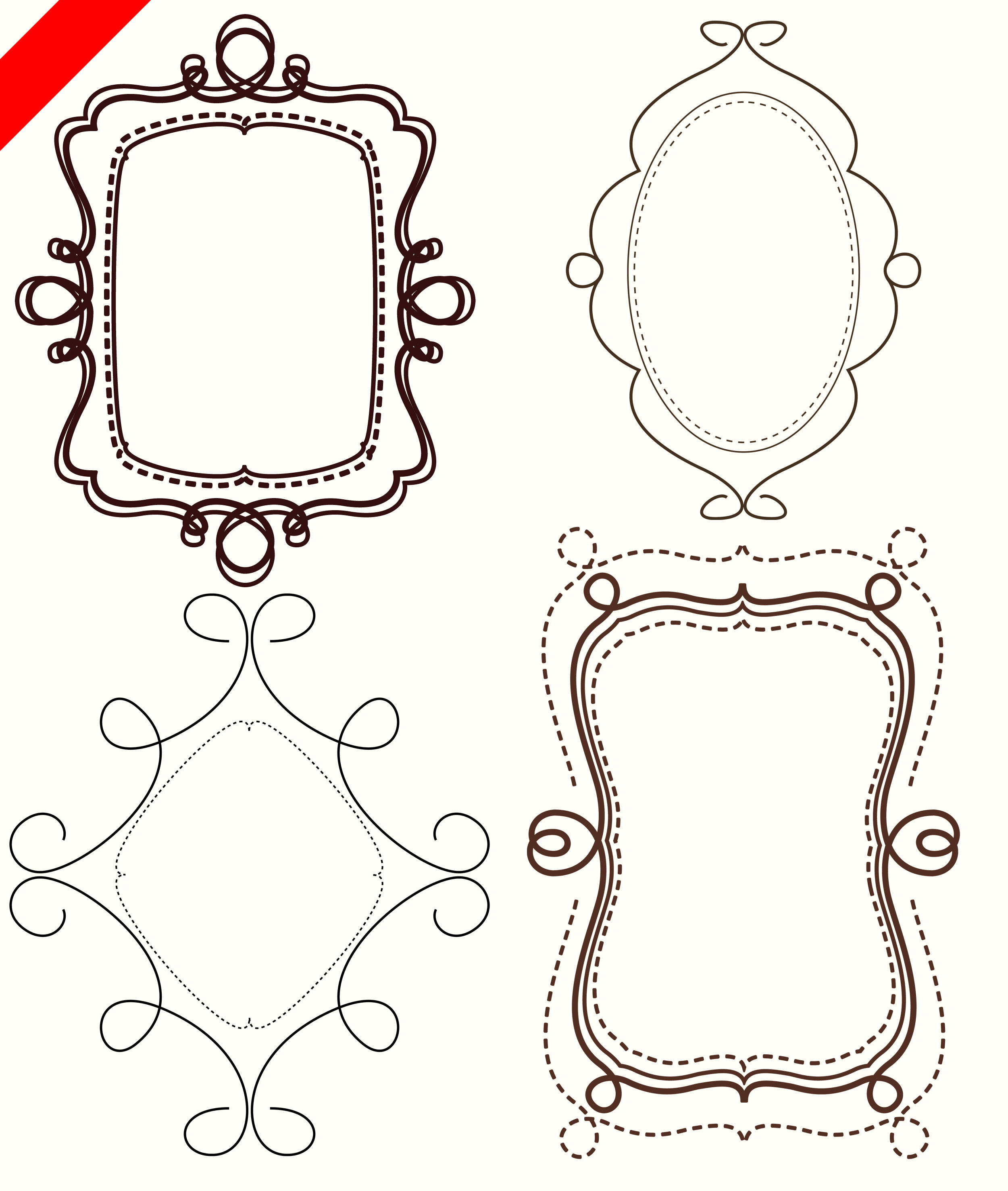 free printable clip art frames - photo #37