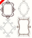 FREE doodle frames clip art