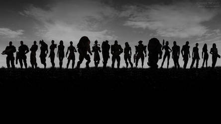 Mass Effect Army - Band of Brothers