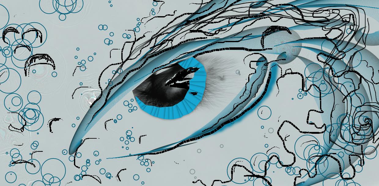Aqua Eyes by FantasyDragon63