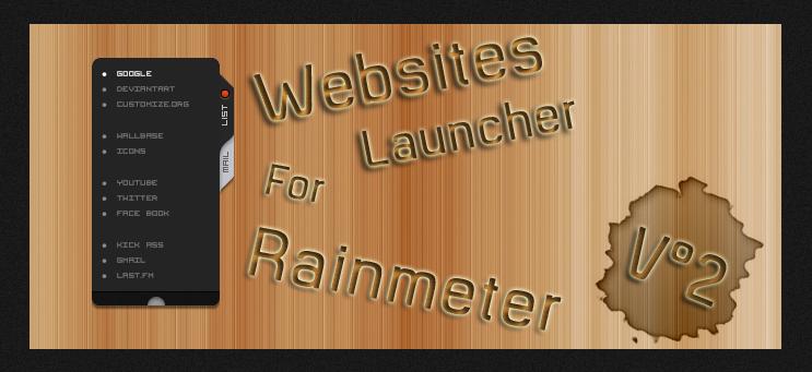 Websites launcher V2 by DijaySazon