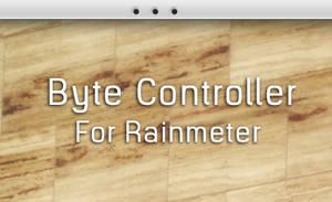 Byte Controller For Rainmeter by DijaySazon