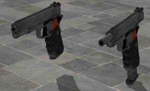 The Silverballer - Rigged