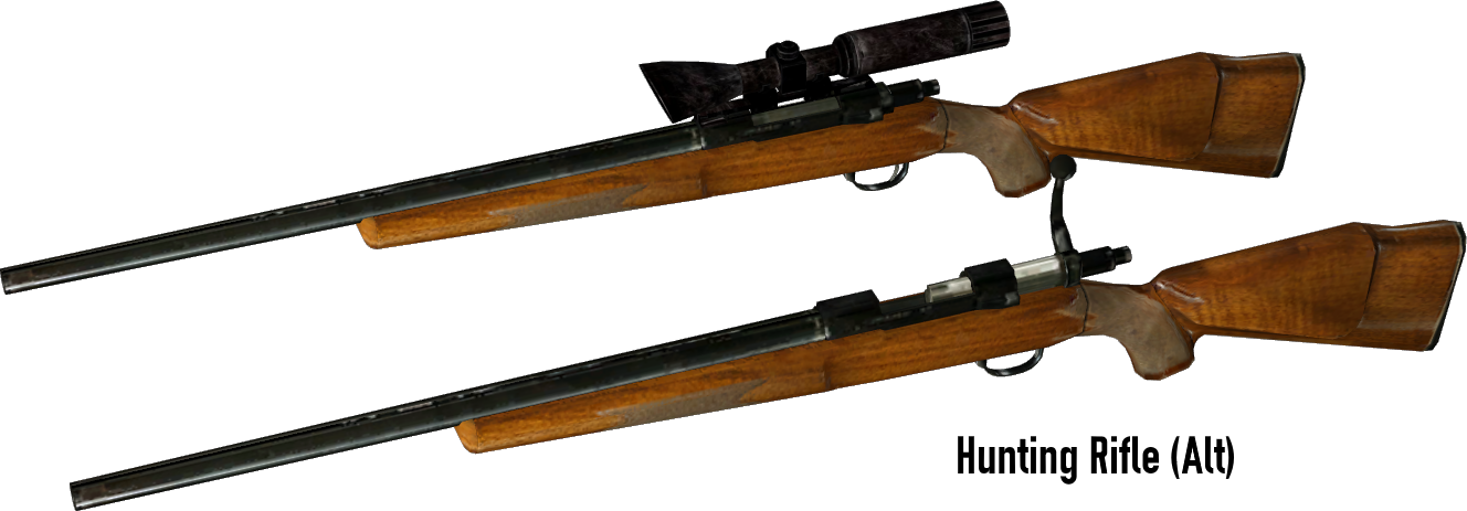 bolt action hunting rifle alt rigged by progammernetwork on