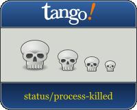 Tango skull icons by dracos