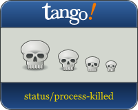 Tango skull icons by dracos